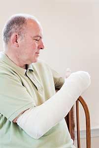 Improper Transfer Leads To Broken Arm