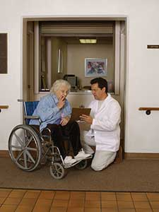 How can nursing home ombudsmen help with problems encountered in a long-term care facility