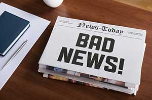 Negative News Headlines