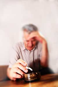 Death caused by Smoking Incident