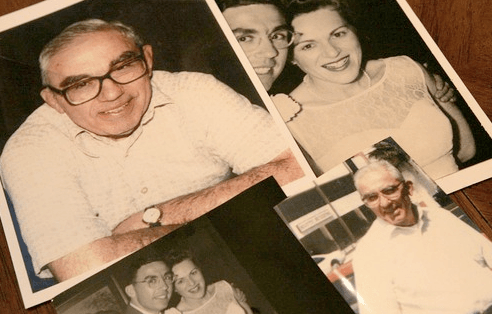 The alleged elder abuse victim and wife from LA Time