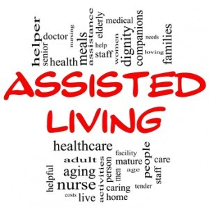 Living in assisted facilities