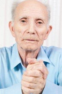 Elderly man in Kentucky nursing home