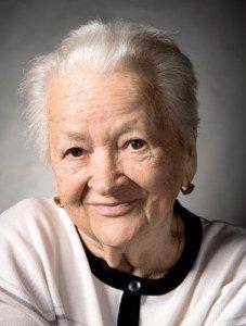 Elderly woman in Alaska nursing home
