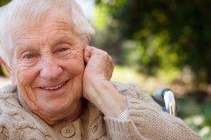 Senior in Wisconsin nursing home