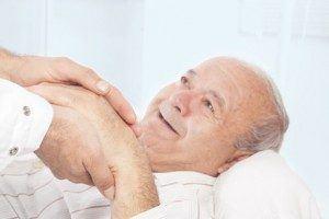 Utah elderly man in nursing home