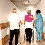 falls at nursing homes